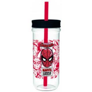 EPEE Czech - Sklenice plastová 670 ml, Spiderman