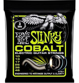Ernie Ball 3721 Slinky Cobalt 3-Pack