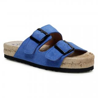 Espadrilky MANEBI - Nordic Sandals M 3.5 R0  Electric Blue dámské Tmavomodrá 35
