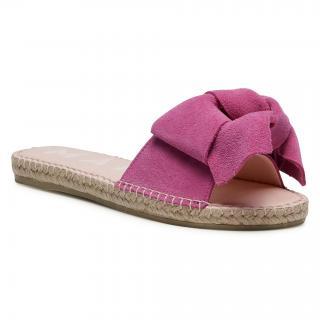 Espadrilky MANEBI -  Sandals With Bow M 3.4 J0 Fuxia dámské Růžová 35