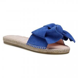 Espadrilky MANEBI - Sandals With Bow M 3.5 J0 Electric Blue dámské Modrá 35
