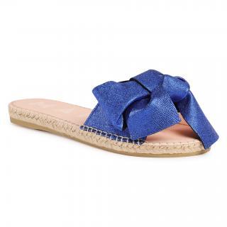 Espadrilky MANEBI - Sandals With Bow O 1.6 J0 Electric Blue dámské Modrá 35