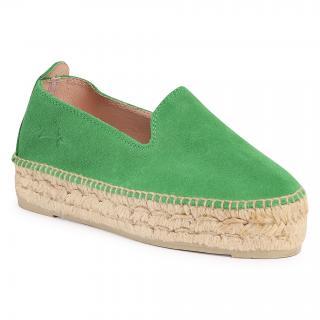 Espadrilky MANEBI - Slippers D M 3.7 D0  Clover Green dámské Zelená 36