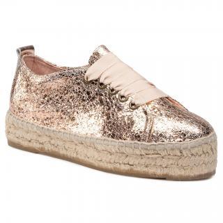 Espadrilky MANEBI - Sneakers D G 0.4 E0 Rose Gold dámské Zlatá 36