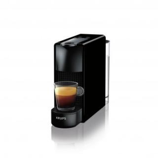 Espresso na kapsle kapslový kávovar krups nespresso essenza mini xn1108cp černý