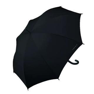Esprit Holový deštník Long AC Black 50001 pánské