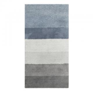 Esprit KOBEREC S VYSOKÝM VLASEM, 70/140 cm, modrá, šedá, barvy nerez oceli, světle šedá, tmavě šedá - modrá, šedá, barvy nerez oceli, světle šedá, tma 70/140