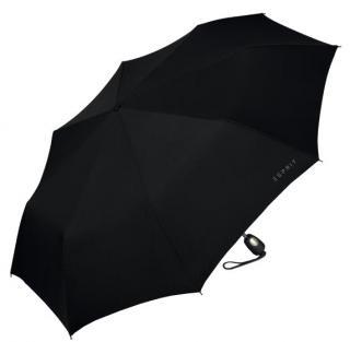 Esprit Pánský skládací automatický deštník Gents Mini Tecmatic Black pánské