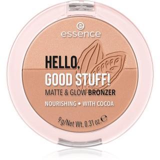 Essence Hello, Good Stuff! Matte & Glow bronzující pudr odstín 10 Cocoa-Cool dámské
