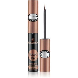 Essence Liquid Link voděodolné oční linky odstín 02 Ash Brown 3 ml dámské 3 ml