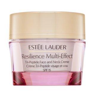 Estee Lauder Resilience Multi-Effect Tri-Peptide Face and Neck Creme SPF15 Normal/Comb. Skin liftingový krém na krk a dekolt 50 ml