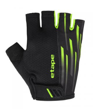 Etape rukavice SPEED,  černá/zelená XL XL