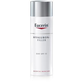 Eucerin Hyaluron-Filler denní protivráskový krém pro normální až smíšenou pleť SPF 15 50 ml dámské 50 ml