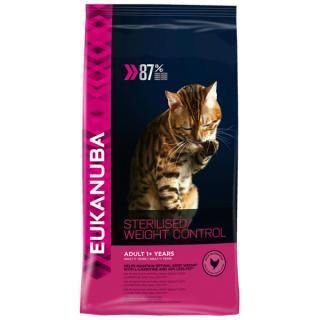 Eukanuba cat adult chicken sterilised / weight control 3kg