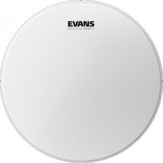 Evans Reso 7 Coated 16 Blána na buben White