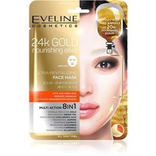 EVELINE COSMETICS 24k Gold Ultra-Revitalizing Face Sheet Mask