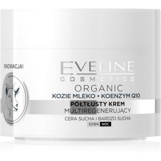 Eveline Cosmetics Coenzym Q10 & Goats Milk hydratační krém na obličej s kozím mlékem 50 ml dámské 50 ml
