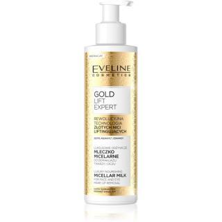 Eveline Cosmetics Gold Lift Expert micelární odličovací mléko 200 ml dámské 200 ml