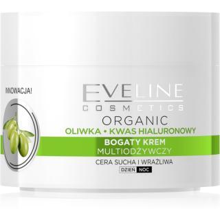 Eveline Cosmetics Green Olive denní i noční hydratační krém s protivráskovým účinkem s výtažkem z oliv 50 ml dámské 50 ml