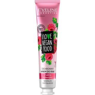Eveline Cosmetics I Love Vegan Food hydratační krém na ruce s vůní malin 50 ml dámské 50 ml