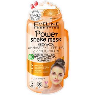 Eveline Cosmetics Power Shake peelingová pleťová maska s probiotiky 10 ml dámské 10 ml
