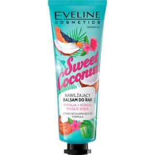 Eveline Cosmetics Sweet Coconut pečující balzám na ruce 50 ml dámské 50 ml