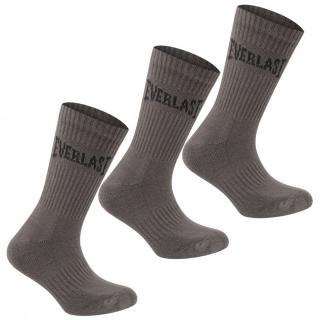 Everlast 3 Pack Crew Socks Mens pánské Grey | Other Mens 7-11