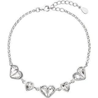EVOLUTION GROUP 33109.1 dekorovaný krystaly Swarovski® ve tvaru srdce