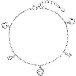 EVOLUTION GROUP 33114.1 dekorovaný krystaly Swarovski® ve tvaru srdce