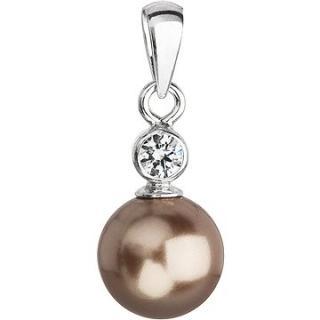 EVOLUTION GROUP 34201.3 bronze s perlou a s krystaly Swarovski®