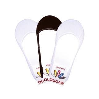 Evona 3 PACK - dámské ponožky BALERÍNKY MIX 39-42
