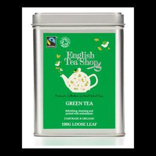 Exklusivní sypaný zelený čaj