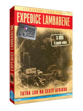 Expedice lambarene 3 dvd