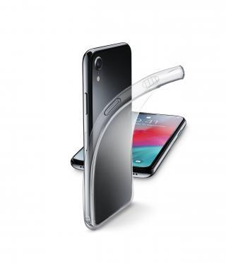 Extratenký zadní kryt CellularLine Fine pro Apple iPhone XR, bezbarvé