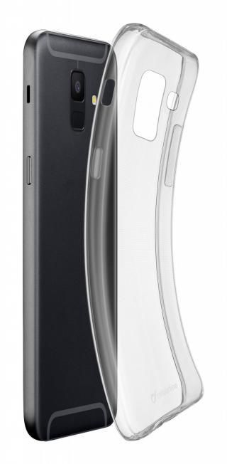 Extratenký zadní kryt Cellularline Fine pro Samsung Galaxy A6 , transparentní