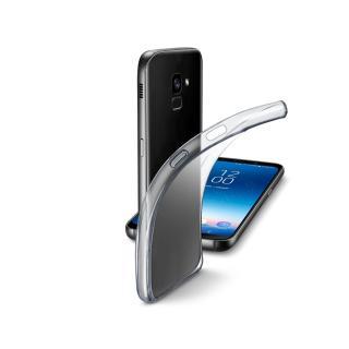 Extratenký zadní kryt CellularLine Fine pro Samsung Galaxy A8 , bezbarvý