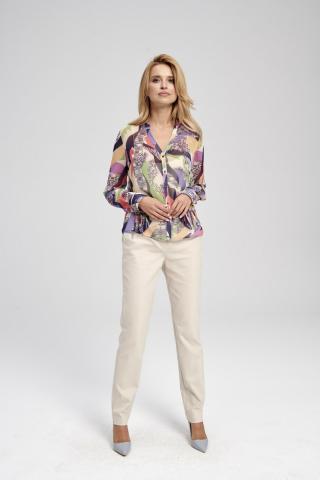 Ezuri Womans Blouse 5727 Multicolour dámské wzorzysty 42