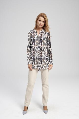 Ezuri Womans Blouse 5744 Multicolour dámské wzorzysty 42
