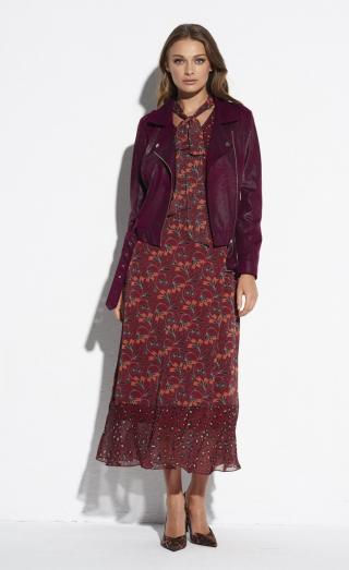 Ezuri Womans Dress 5524 Multicolour dámské wzorzysty 40