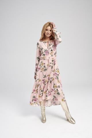 Ezuri Womans Dress 5717 Multicolour dámské wzorzysty 46