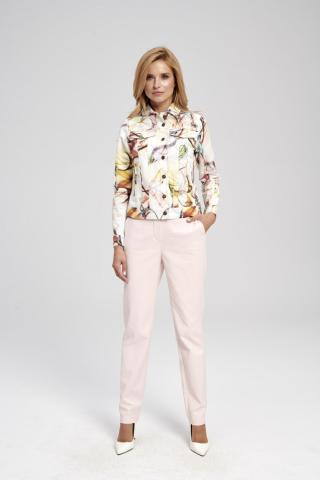 Ezuri Womans Jacket 5753 Multicolour dámské wzorzysty 44