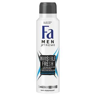 Fa Antiperspirant Men Xtreme Invisible Fresh 48H Protection  150 ml