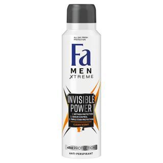 Fa Antiperspirant ve spreji Men Xtreme Invisible Power  150 ml