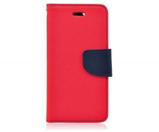 Fancy Diary flipové pouzdro pro Samsung Galaxy M11 red/navy