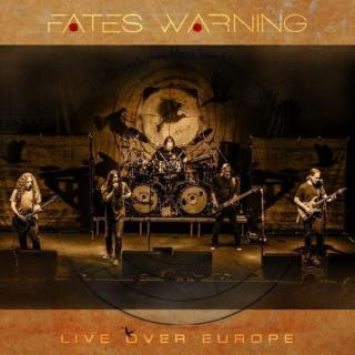 Fates Warning Live Over Europe  Black