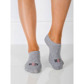 Feet with gray inscription dámské Neurčeno 41-45