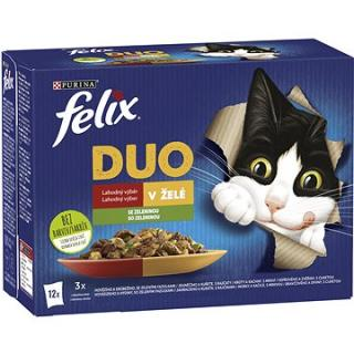 Felix Fantastic DUO hovězí a drůbeží, jehněčí a kuře, krůta a kachna, vepřové a zvěřina se zeleninou