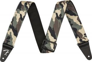 Fender 2 Camo Strap Woodland Brown
