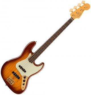 Fender 75th Anniversary Commemorative Jazz Bass RW 2-Color Bourbon Burst Sunburst