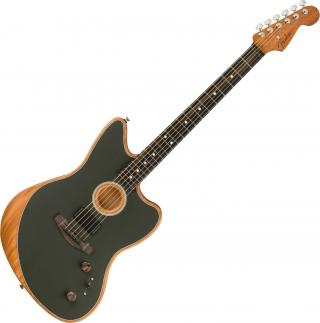 Fender American Acoustasonic Jazzmaster Wolfram Black
